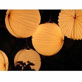 White Garden Lanterns(5 pack)