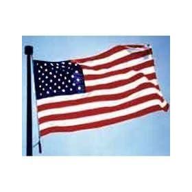 3 x 5 ft US United States Nylon Flag Embroidered stars - sewn stripes