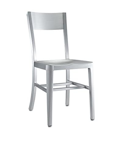 Modway Milan Dining Side Chair, Silver