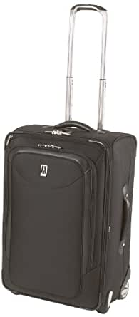 Travelpro Luggage Platinum Magna 24 Inch Expandable Rollaboard Suiter, Black, One Size