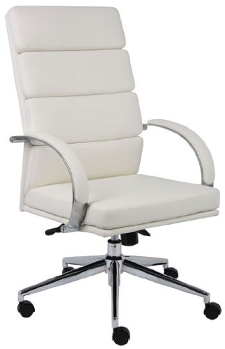 Boss B9401-WT Caressoftplus Executive Series Chair