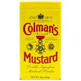 Colman's Dry Mustard Powder 16 oz
