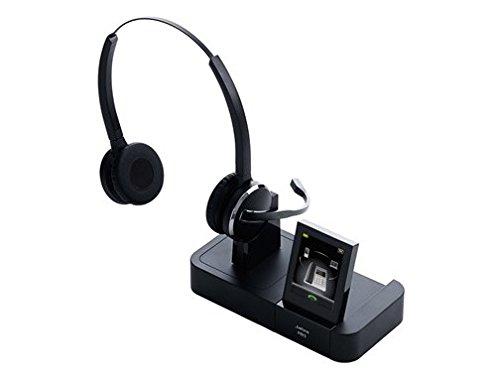 Jabra PRO 9465 Duo Casque Bluetooth Connexion PC via USB et GSM via Bluetooth, Antibruit - Noir