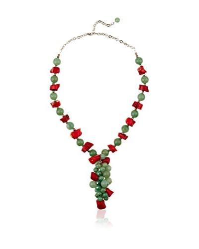 Sándalo Collar  Rojo / Verde