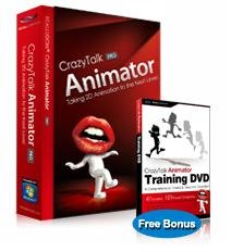 CrazyTalk Animator PRO + CrazyTalk Animator Training DVD Windows 7 / Windows Vista