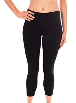 90 Degree By Reflex Yoga Capris - Yoga Capris for Women - Hidden Pocket