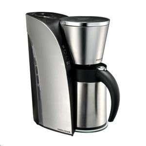 kaffeemaschine mit thermoskanne edelstahl geb rstet aus der designserie arc. Black Bedroom Furniture Sets. Home Design Ideas