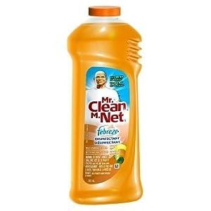 2 Pk, Mr. Clean with Febreze Antibacterial Citrus & Light Multi-Purpose Cleaner, 27 Fl. Oz
