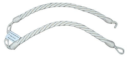 Drapery Curtain Rope Tieback,