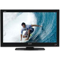 Sharp LC32D59U 32-Inch 720p LCD TV, Black