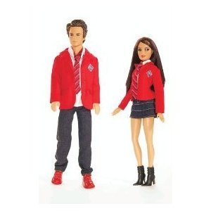 Mattel Barbie Rebelde Roberta and Diego Giftset