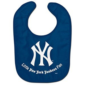 New York Yankees Official Mlb Infant Baby Bib All Pro Style front-558269