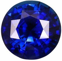 Round Shape Blue Sapphire Loose Gemstone, Quality Grade, AA 0.09 carats 2.50 mm