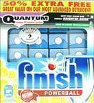 FINISH POWERBALL QUANTUM DISHWASHER LEMON 33% EXTRA TABS 36 - 36 TABS