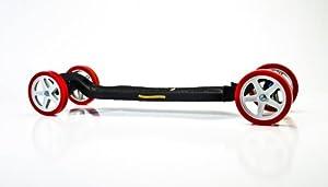 Onda Motion 609728838492 Onda Board Polymer Wheels - Ice Hub- Red Tire