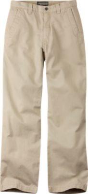 Mountain Khakis Men's Teton Twill Pant (Sand, 28-Width 32-Length)