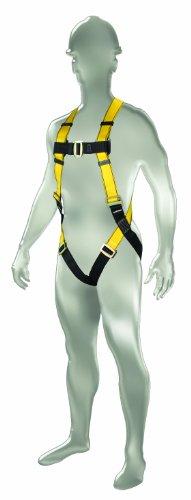 MSA Safety 10096486 Style 1-D Harness Vest, Standard Size