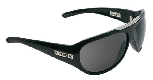 Anon Amos Sunglasses – Black Gloss / Grey – Regular
