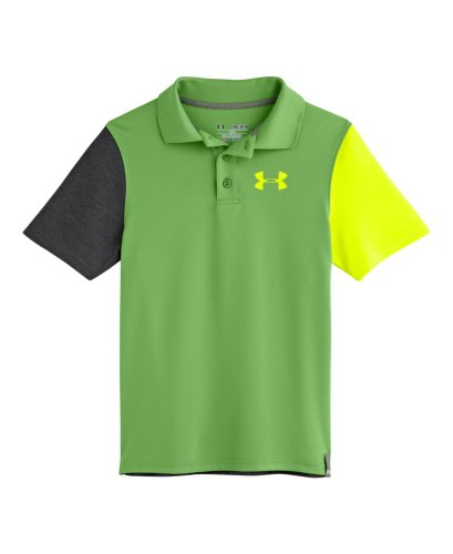 Under Armour Big Boys' Ua Fullswing Cb Polo Youth Large Lizard front-941163