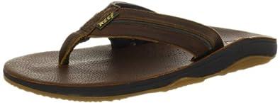 Reef Playa Cervesa Flip Flops - Brown/Hemp