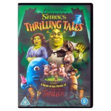 Shrek's Thrilling Tales (2012) DVD