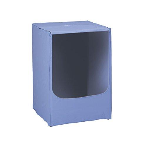 Rayen-2398-Housse-Machine--Laver-PEVA-Bleu-84-x-60-x-60-cm