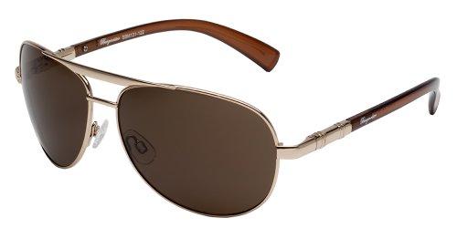 Burgmeister Herren SBM131-122 Aviator Sonnenbrille, Gold