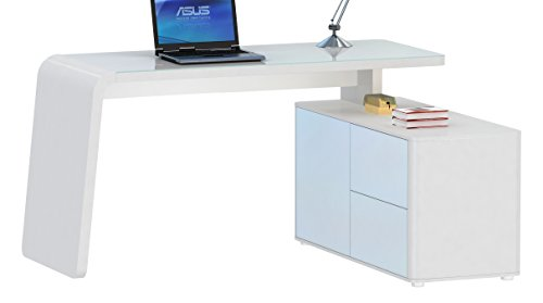 Jahnke-CSL-465-E-WGLMATT-WS-T1-2-Eck-Schreibtisch-E1-Holzwerkstoffplatten-beschichtet-und-lackiert-ESG-Sicherheitsglas-wei-154-x-60-x-76-cm