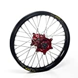 Haan Products Haan-Wheels Haan Wheels Honda Red Hubs & Black Rims Cr125, 18-2.15 Rearenduro
