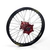Haan Products Haan-Wheels Haan Wheels Honda Red Hubs & Black Rims Cr125, 19-1.85 Rear Mx