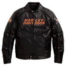 Buy Harley Davidson Mens Alternator Leather Jacket with Switchback Technology, and much more. 98117-08VM