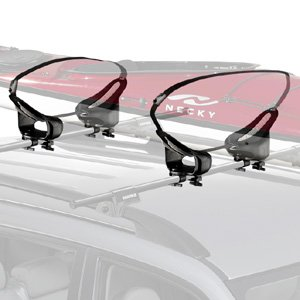 Click to buy Yakima Mako Saddles Rooftop Kayak Carrier with Straps with Tie-Downs from Amazon!