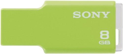 Sony Microvault Style 8GB Speicherstick USB 2.0 limettengrün