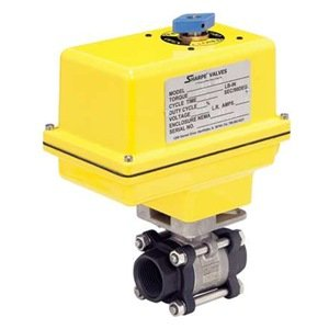 Ball Valve, Electric Actuated, 1/4 In