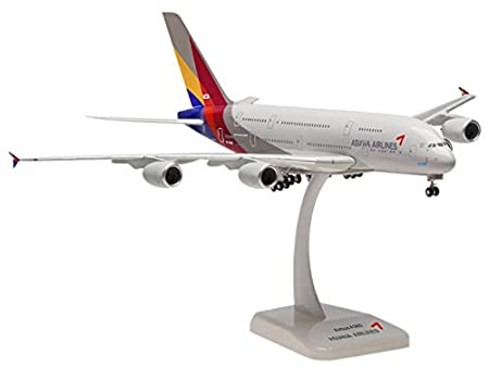 Airbus A380-800 Asiana Scale 1:200