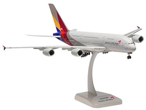 hogan Wings 1/200 A380-800 アシアナ航空 ランディングギア付き