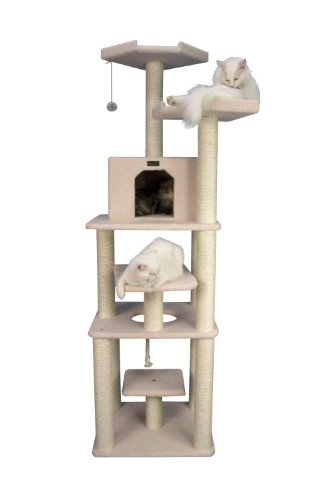 Armarkat Cat Tree Model B7801, Ivory