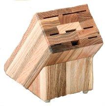 Oak Block Empty Holds Eight Knives - Rada B43 Colossal Oak Block