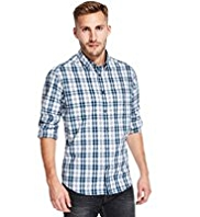 Pure Cotton Easy Care™ Multi Checked Shirt