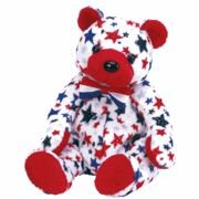 Ty Beanie Baby ~ Red (Nose) The Bear
