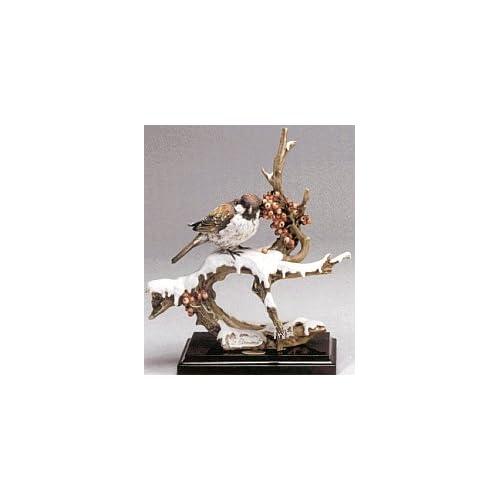 Giuseppe Armani Figurine Sparrow on Snow 548-C