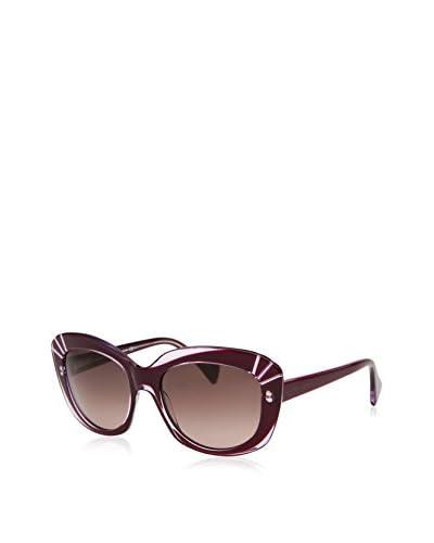 Alexander McQueen Women's 4214-S-SS8-54 Designer Sunglasses, Purple