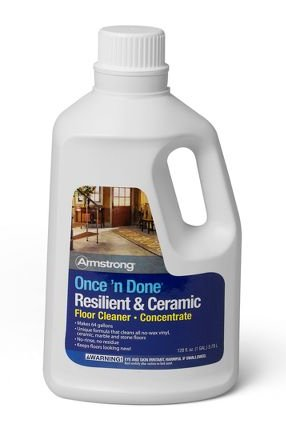 Armstrong Once 'N Done No-Rinse Floor Cleanr Concentrate, 64 oz (S-338) (Armstrong Linoleum Floor Cleaner compare prices)