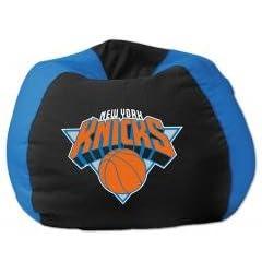New York Knicks 96 Bean Bag Chair (NBA) Sports Home Decor by NBA