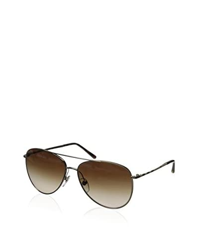 Burberry Women's BE3072 Sunglasses, Gold/Brown
