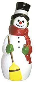 General Foam Painted Blow Mold Snowman 40""