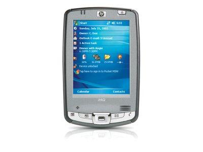 O Hewlett Packard O - Hp Ipaq Hx2490C