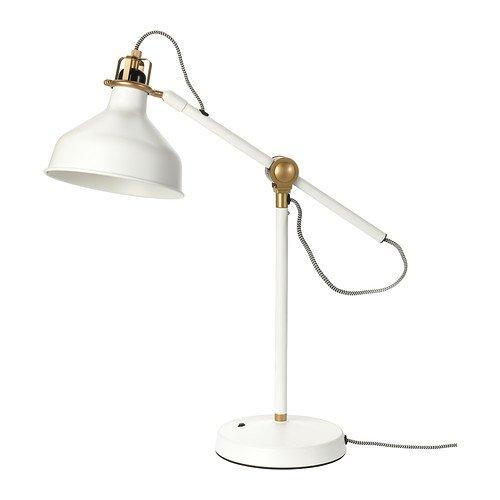 Ikea Ranarp Table Lamp Work Reading Off White (E26 Led Bulb Included)