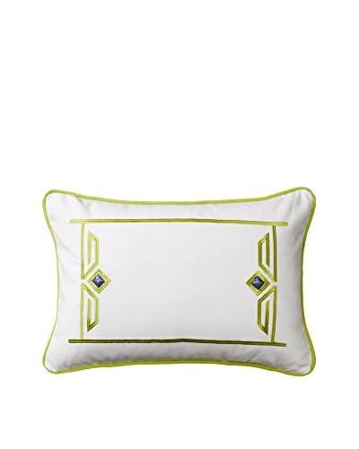 Echo Sardinia Lumbar Pillow, White