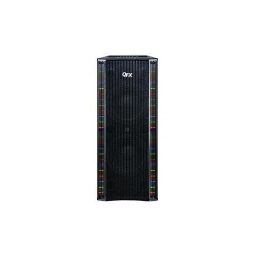 Qfx Sbx-410202Bt Bluetooth Tower Home Theater Speaker System With Built-In Amplifier (Black)